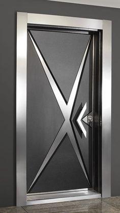 30 Ideas For Main Door Design Modern Bedrooms Flush Door Design, Door Gate Design, Door Design Interior, Wooden Front Door Design, Wooden Front Doors, Modern Entrance Door, Entrance Doors, Patio Doors, Contemporary Front Doors