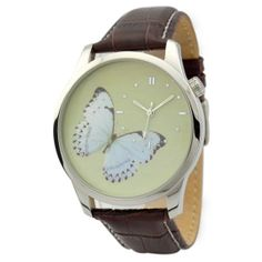 Butterfly Watch White by SandMwatch on Etsy