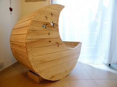 Items similar to Moon Cradle by Warlord Custom on Etsy Egg Chair, Moon, Bed, Projects, Furniture, Home Decor, The Moon, Log Projects, Blue Prints