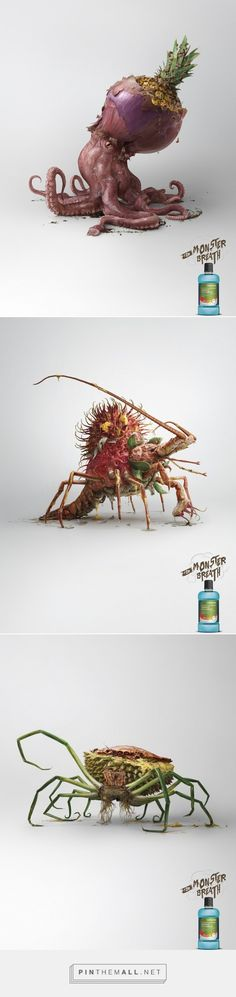 Watsons: For Monster Breath Campaign - Gute Werbung - created via http://pinthemall.net