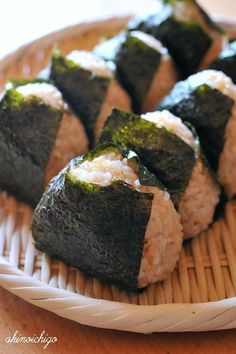 . I saw a friend eating one of these the other day and realized it's been about a year since I made onigiri, my favorite snack.