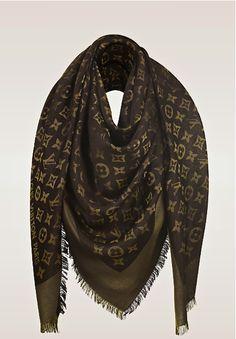 3b0ecbb17aa32 Louis Vuitton monogram shawl Fashion Bags