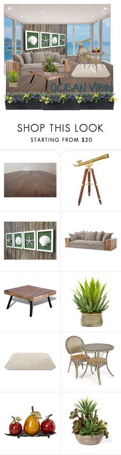 """NATURES HOME OCEAN VIEW"" by karlamy ❤ liked on Polyvore featuring interior, interiors, interior design, home, home decor, interior decorating, Creative Displays, &Tradition and MacKenzie-Childs"