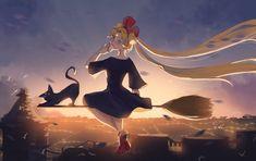 Usagi's delivery service. Watch Sailor Moon, Sailor Moon Art, Sailor Moon Crystal, Manga Anime, Anime Art, Sailor Moon Halloween, Princesa Serenity, Neo Queen Serenity, Moon Princess