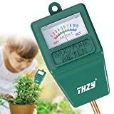 THZY Soil Moisture Meter,Hygrometer Moisture Sensor soil Indoor/Outdoor Moisture Sensor Meter, soil water monitor, for gardening, farming (No Battery needed) Peace Lily Plant Care, Peace Plant, Peace Lillies, Outdoor Plants, Indoor Outdoor, Plants Indoor, Indoor Garden, Snake Plant Care, Gardening For Dummies