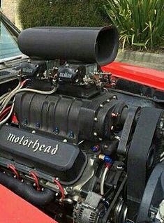 Blown black engine