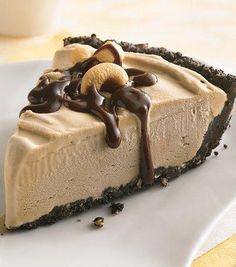 Coffee Ice Cream Pie Coconut Ice Cream, Delicious Vegan Recipes, Raw Food Recipes, Free Products, Ice Cream Pies, Gluten Intolerance, Celiac Disease, Macaroons, Frozen