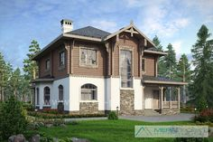 М225 - Проект комбинированного дома