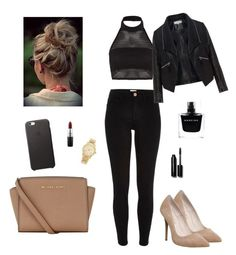 """""""#23"""" by stydialover on Polyvore featuring Boohoo, River Island, Office, Zizzi, MICHAEL Michael Kors, Michael Kors, Bobbi Brown Cosmetics, MAC Cosmetics, Narciso Rodriguez and women's clothing"""
