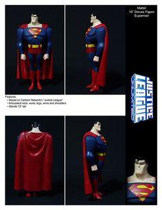 "Mattel 10"" Deluxe Figure Justice Leauge Unlimited Superman by ETDS1, via Flickr"