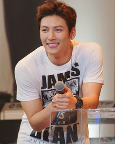 I think about your smile all the time ☺☺ #jichangwook #지창욱  #池昌旭  #チチャンウク Cr: ji_bunny