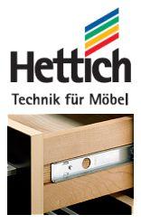 Beschläge und Gestaltungselemente in Heimwerker und in Profi-Qualität von Hettich