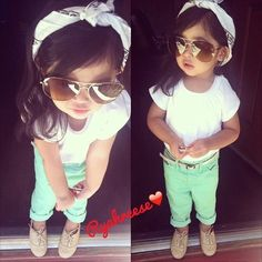 my baby girl is going to be stylish...when i have one but this is really cute!!