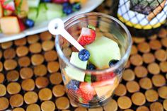 White Wine Drenched Fruit Salad Cooking With White Wine, Simple Syrup, Recipe Using, Chocolate Fondue, Fresh Fruit, Fruit Salad, Acai Bowl, Breakfast, Desserts