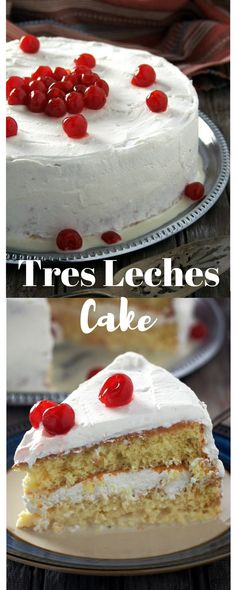 Tres Leches Cake is a heavenly indulgent sponge cake soaked in three types of milk. Very moist, delicate and creamy, this is a perfect dessert after a nice hearty meal. Delicious Cake Recipes, Easy Cake Recipes, Best Dessert Recipes, Cupcake Recipes, Yummy Cakes, Easy Desserts, Baking Recipes, Cupcake Cakes, Cupcakes