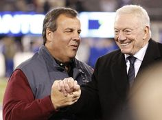Governor Chris Christie And Dallas Owner Jerry Jones Are In Bed Together And It's Getting Crowded