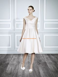 A-linie Süße Moderne Abendkleider aus Taft