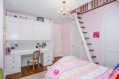Traditional girls bedroom by Johnson & Associates Interior Design