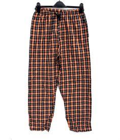 RK Mens XL Orange & Black pyjama Bottoms night wear sleep pj's checked plaid Plaid Outfits, Boy Outfits, Black Pajamas, Harem Pants, Pajama Pants, Click Photo, Mens Xl, Pjs, Nightwear