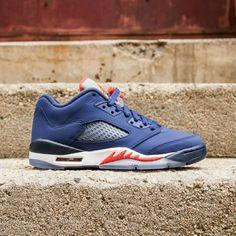 brand new bf426 acbe0 Jordan Shoes   Air Jordan 5 Retro Low Knicks (Gs) Zize 6.5y   Color  Blue Orange    Size  Various