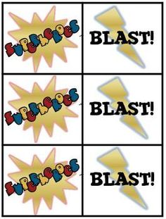Superhero Sight Word