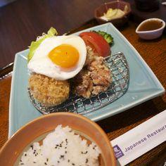 每次吃大戶屋都為免費加飯跟高麗菜搞很撐。I love Ootoya set as adding rices & #salads for free #Taiwan #food #instagood