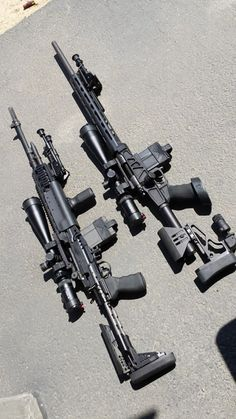 M1A EBR 7.62x51 and Remington 700 SPS Varmint .308 with XLR Carbon chassis Both are Vortex Viper PST 6-24x50 SFP