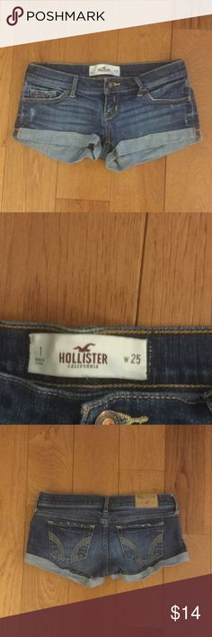 Teen's Hollister Jean Shorts Excellent gently-used condition!!! Hollister Shorts Jean Shorts