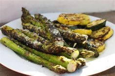 Grilled Parmesan Asparagus Recipe on Yummly