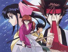 Ainda sou do tempo: ... do Samurai X