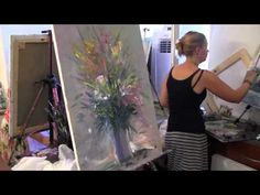 Abstract Art Painting, Acrylic Painting with Painting Knife, Colorful, Abstrakte Malerei - YouTube