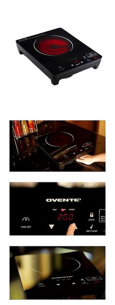 Burners and Hot Plates 177751: Ovente Cool Touch Portable Ceramic Infrared Cooktop Burner (Bg44s) Bg4 Series -> BUY IT NOW ONLY: $61.77 on eBay!