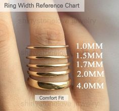 Excited to share the latest addition to my shop: Simple Thin Solid Gold Ring - stackable simple gold rings, yellow gold ring, simple rings women, minimalist solid gold wedding band sets Simple Wedding Bands, Wedding Band Sets, Gold Wedding Rings, Stacked Wedding Bands, Wedding White, Womens Gold Wedding Band, Thin Diamond Wedding Band, Stackable Wedding Bands, Wedding Pins