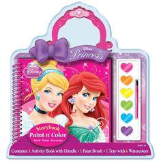Disney Princesses Paint and Color