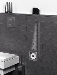 Wc Bathroom Tile Designs, Bathroom Design Small, Bathroom Interior Design, Office Bathroom, Downstairs Bathroom, Modern Bathroom, Hidden Toilet, Shower Cabinets, Wc Design