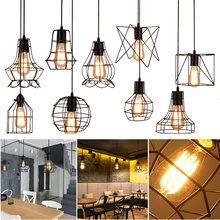 LAMP Industriel R/étro Loft Plafonnier Suspension Lumi/ères Lustre Suspension Luminaire en Laiton Support De en Verre Boule De Abat-Jour,A