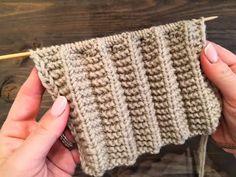 Loom Knitting Patterns, Knitting Videos, Knitting Stitches, Knitting Designs, Knitting Needles, Knitting Projects, Baby Knitting, Stitch Patterns, Crochet Slippers