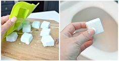 Cette recette de bombes nettoyantes pour la toilette rendra la cuvette étincelante de propreté!