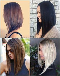 Nice 48 Top Inspiring Long Bob Hairstyle Ideas. More at https://trendfashionist.com/2018/05/10/48-top-inspiring-long-bob-hairstyle-ideas/
