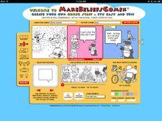 Make Beliefs Comix - A Multilingual Comic Creation iPad App