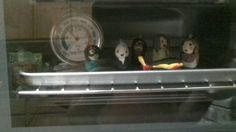 Baking kawaii charm characters in toaster oven