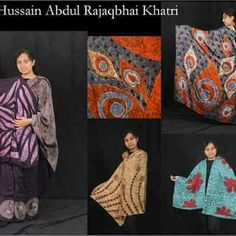 Exclusively designed batik silk collection inspired by nature