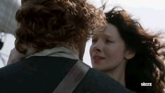 Pin for Later: 28 Times Outlander's Claire and Jamie Gave Us Unrealistic Relationship Goals When This Windblown Kiss Sweeps You Off Your Feet