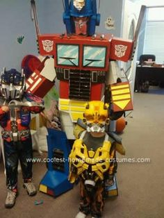 Homemade Optimus Prime Transformer Costume: From start to finsih this Homemade Optimus Prime Costume took me over 6 weeks to complete. Its the first major costume I've ever made...