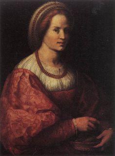 portrait woman 1517 Andrea del Sarto