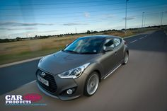 The unique styling of the Hyundai Veloster makes it a real head turner while still being a practical car for daily use.