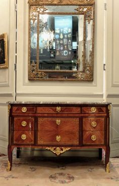 Commode Transition XVIIIe siècle