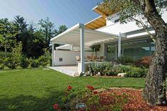 diseño de jardines modernos mantillo colores flores