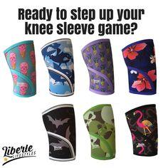 Knee sleeves for CrossFit, Weightlifting, Powerlifting. We  Prints!