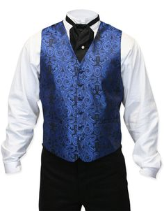Whipple Vest - Blue Paisley [003731]    Ordered for my friends wedding, also I…
